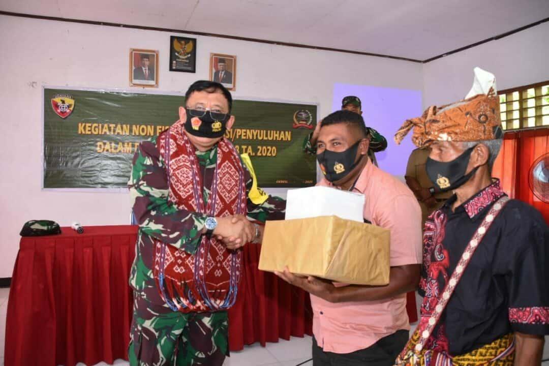 Kunjungan Kerja Aslog Panglima TNI di NTT