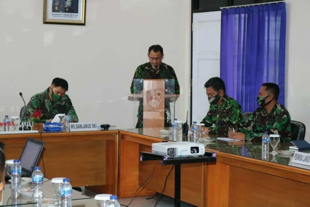 Tim Wasrik Itkoopsau I Laksanakan Exit Briefing di Lanud Sugiri Sukani