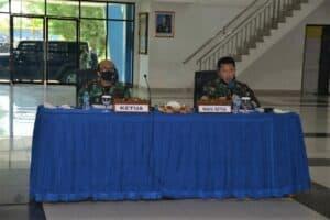 Danlanud Supadio Pimpin Sidang Pemilihan Tingkat Daerah