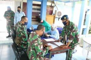 Puluhan Prajurit Lanud Sutan Sjahrir Donorkan Darahnya