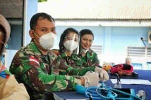 Sambut Peringatan Ke-73 Hari Bakti TNI AU Tahun 2020, Lanud RHF Gelar Donor Darah