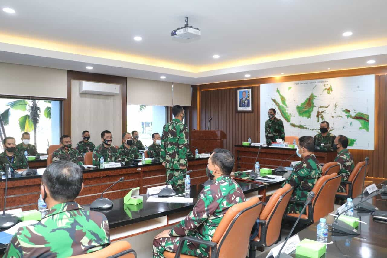 Pangkoopsau I : Wasrik Itjen TNI berkontribusi mewujudkan Opini WTP