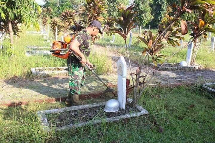 Peringati Hari Bakti TNI AU ke-73, Lanud J.B. Soedirman Gelar Karya Bakti
