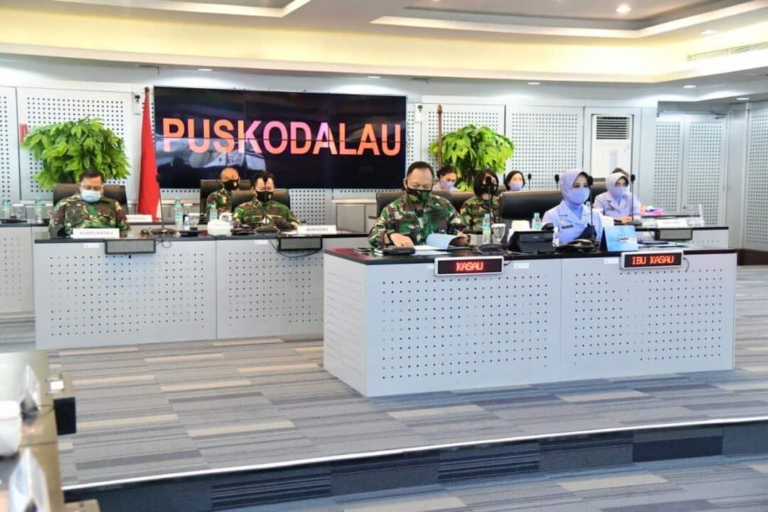 Kasau Beri Apresiasi Kepada Tenaga Kesehatan TNI AU
