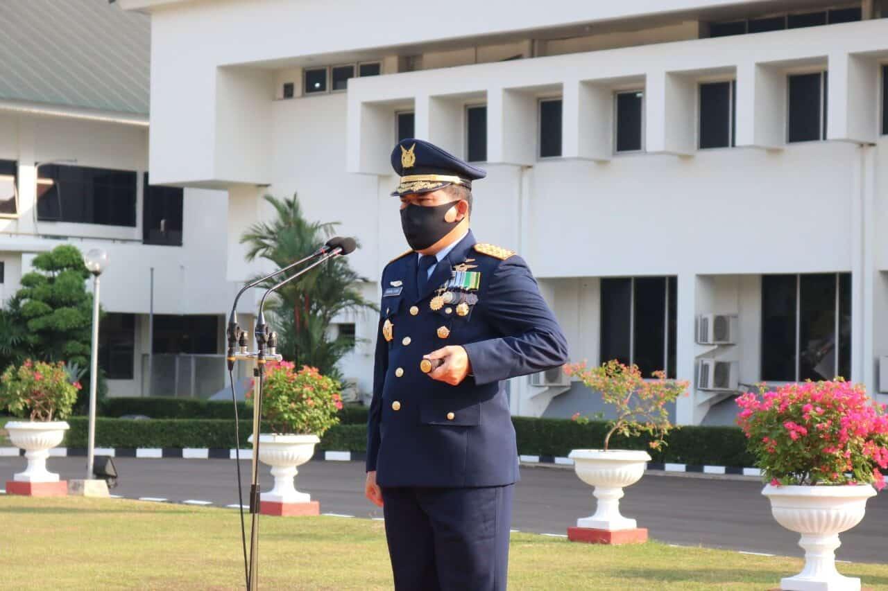 Upacara Peringatan ke-73 Hari Bakti TNI AU di Kohanudnas