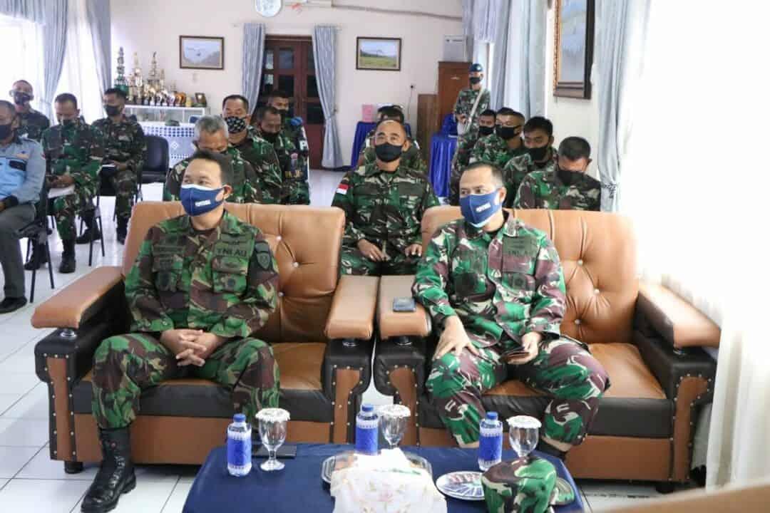 Pengawasan Dan Sosialisasi Alsus Binpotdirga Oleh Puspotdirga Di Lanud Sutan Sjahrir
