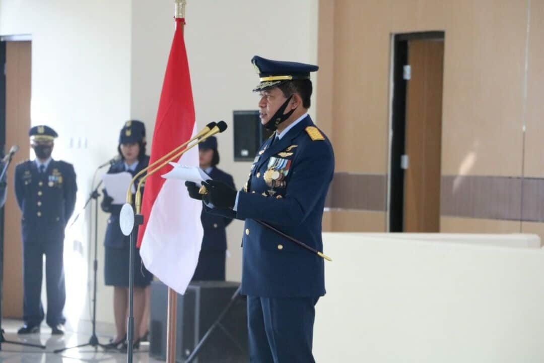 Peringatan Hari Bakti Angkatan Udara di Koopsau III Biak