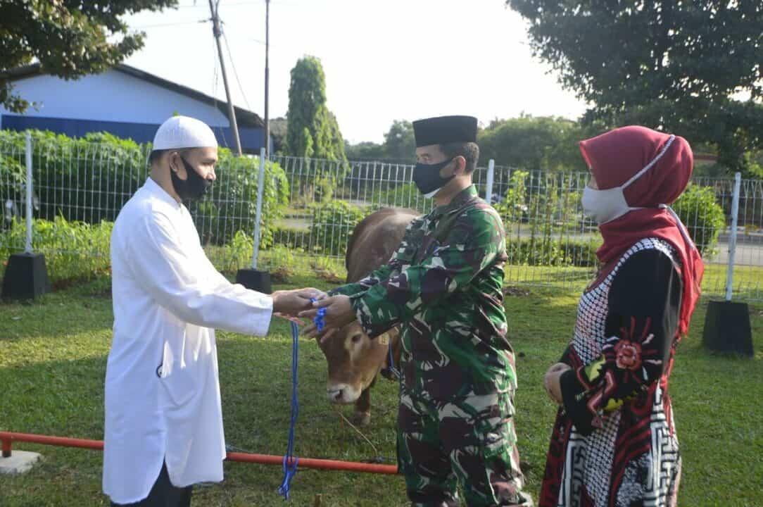 Idul Adha 1441 H Lanud Halim Sembelih Puluhan Hewan Kurban, Termasuk dari Kasau dan Pangkoopsau