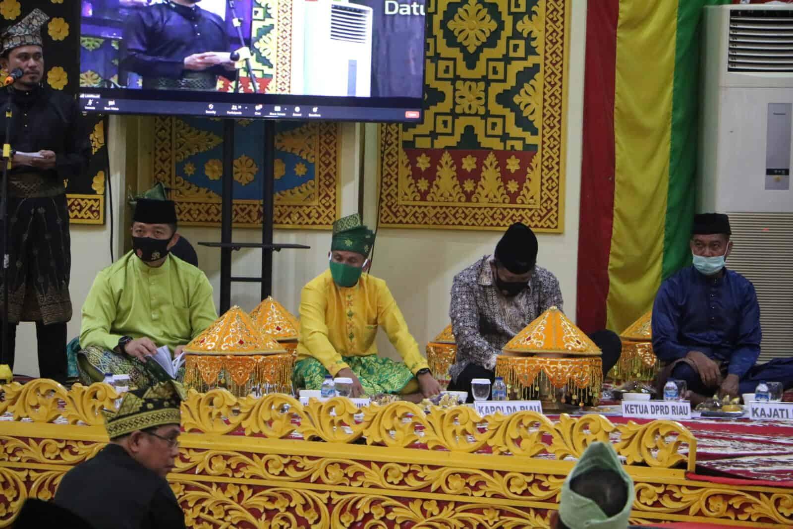 Danlanud Hadiri Penambalan Gelar Almarhum Brigjen TNI (Purn) H. Arifin Achmad