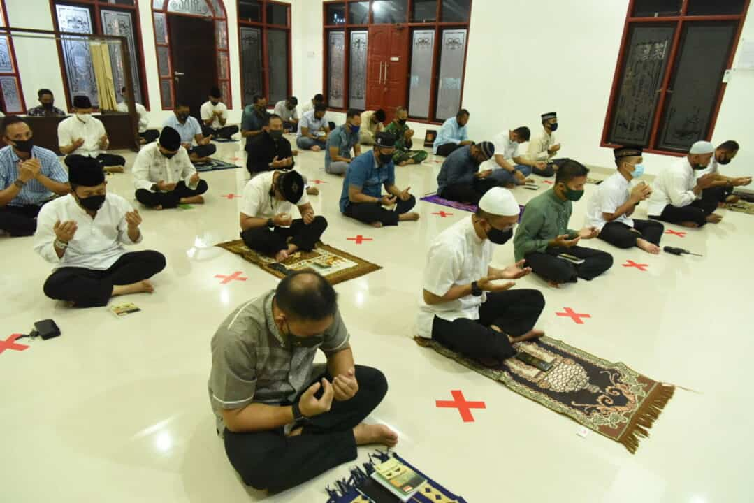 Danwing 6 Ajak Doa Bersama, Jelang Latihan Weapon Delivery