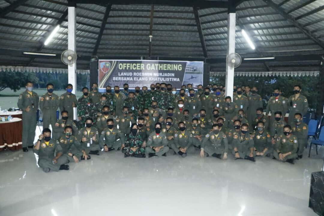 Danlanud Rsn Gelar Officer Gathering Bersama Elang Khatulistiwa