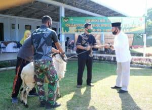 Penyembelihan Hewan Kurban Hari Raya Idul Adha 1441 H di Wingdikum