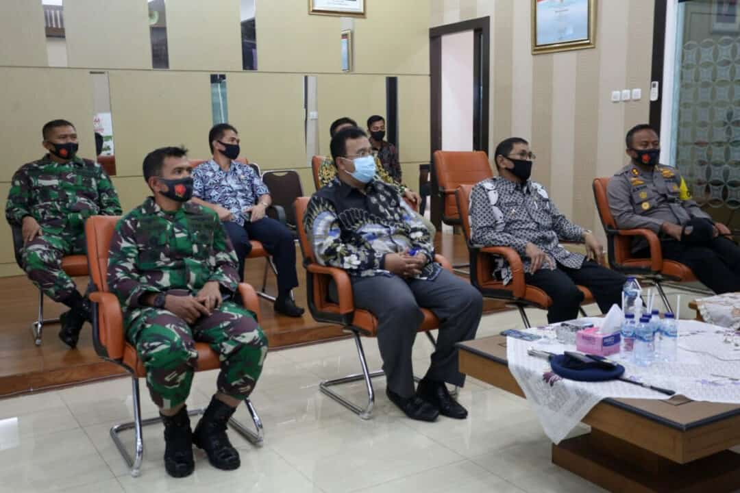 Vicon Pertemuan Gugus Tugas Percepatan Penanggulangan Covid-19 Se-Jawa Barat