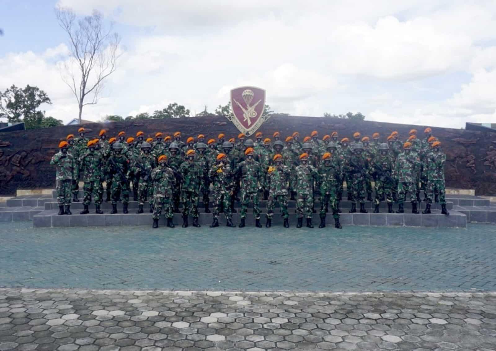 Pembukaan Orientasi Prajurit Baru Batalyon Komando 462 Paskhas