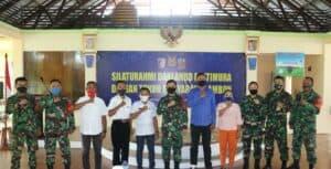 Danlanud Pattimura Gelar Silaturahmi Dengan Tokoh Masyarakat