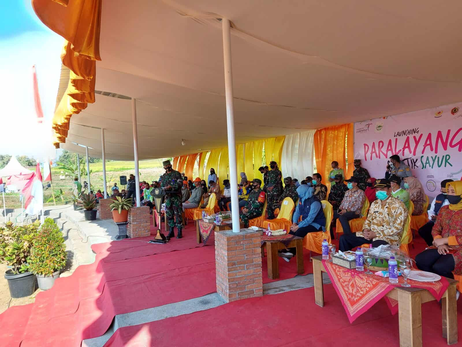 Danlanud Muljono Turut Serta Launching Paralayang Dan Agro Wisata di Trawas Mojokerto