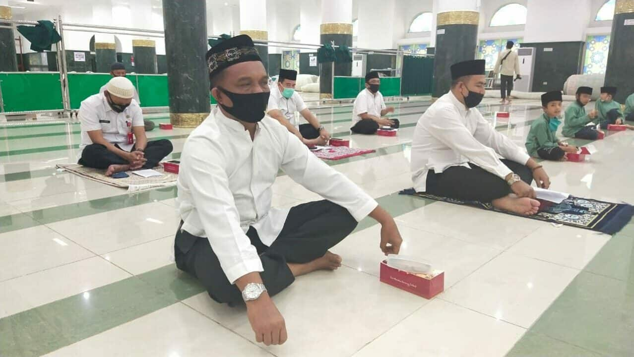 Kapen Lanud Rsn Hadiri Zikir Bersama di Masjid An-Nur