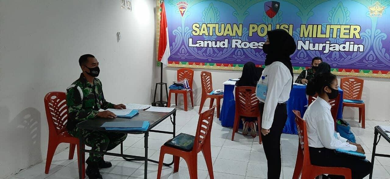 Casis Bintara PK Wara Laksanakan Tes Screning POM