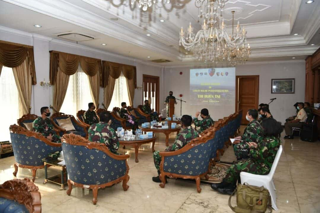 Wasrik Itjen TNI di Lanud Halim