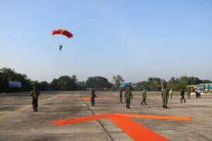 Helly Super Puma Terjunkan 10 Atlet Ordirga TNI AU
