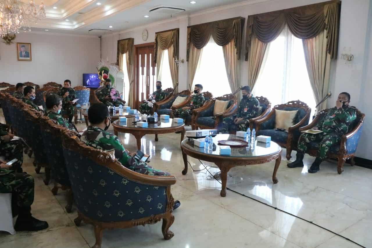 Itjen TNI Akhiri Wasrik di Lanud Halim