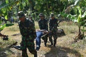 Pangkalan TNI Angkatan Udara Maimun Saleh Terus Kejar Kelompok Kriminal Separatis Bersenjata.