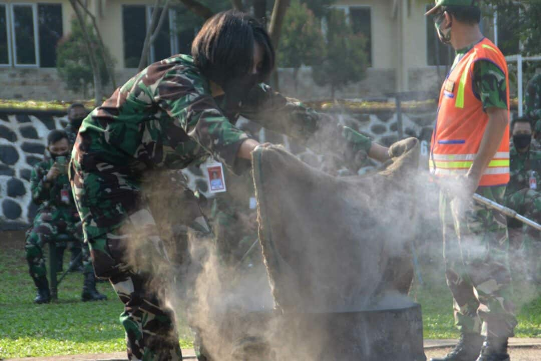Tanggap Bencana Kebakaran, Kosekhanudnas I Latihan Damkar