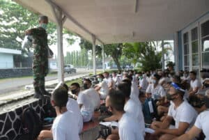 Lanud Husein Sastranegara tes 440 calon Bintara TNI Angkatan Udara pria
