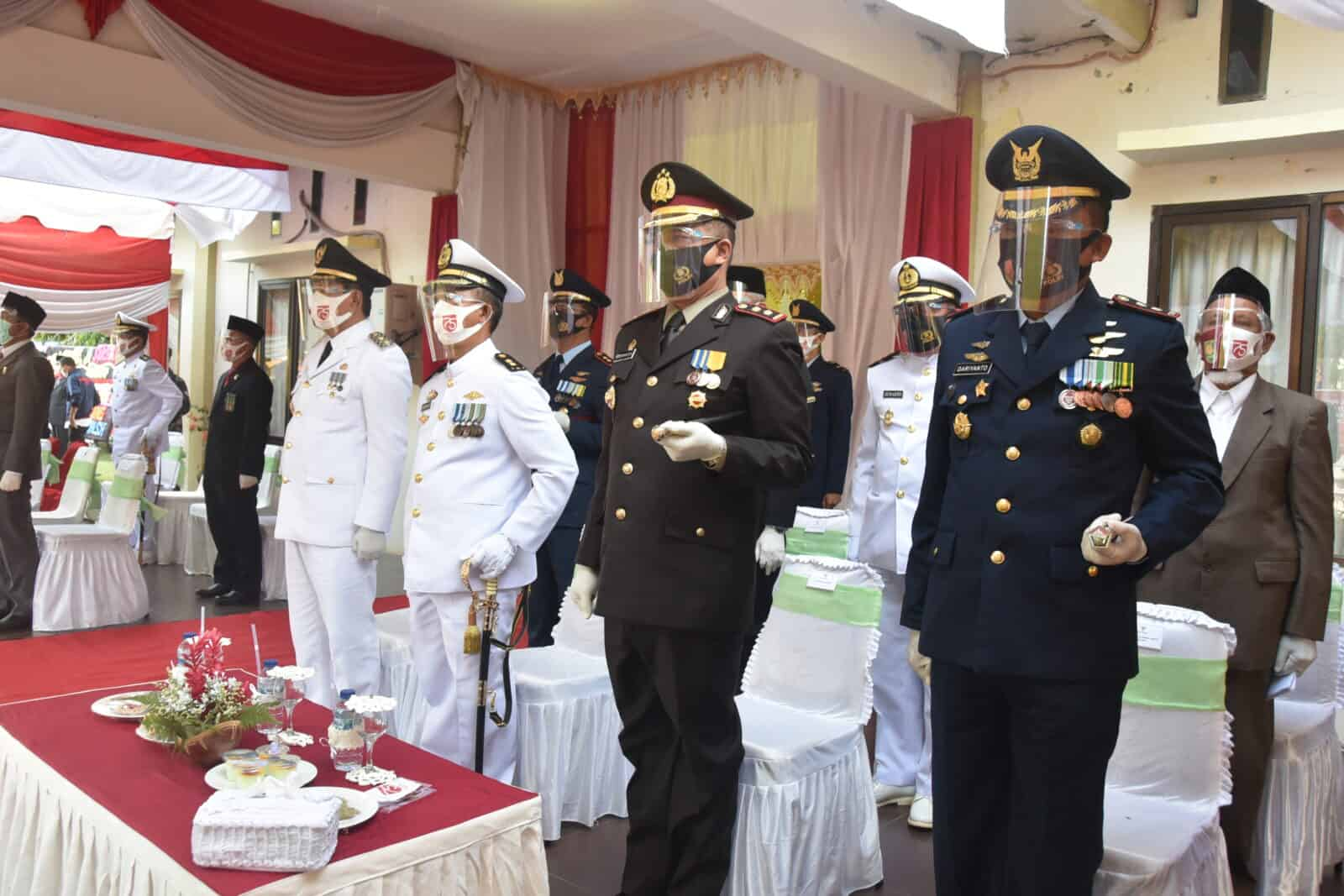 Peringatan Upacara HUT Kemerdekaan Republik Indonesia Ke-75 Di Ujung Perbatasan Negara Kesatuan Republik Indonesia.