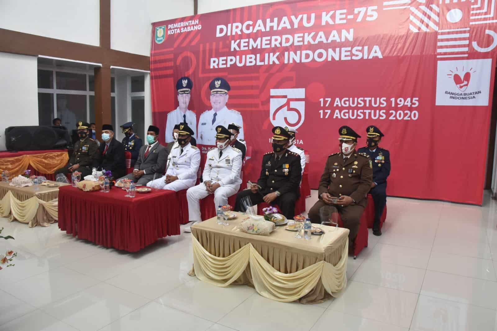 Upacara Peringatan Ke-75 Tahun 2020, Detik-Detik Proklamasi Kemerdekaan Republik Indonesia Dilaksanakan Secara Virtual.