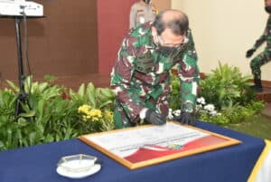 Pencanangan Pembangunan Zona Integristas RSAU dr. M Salamun