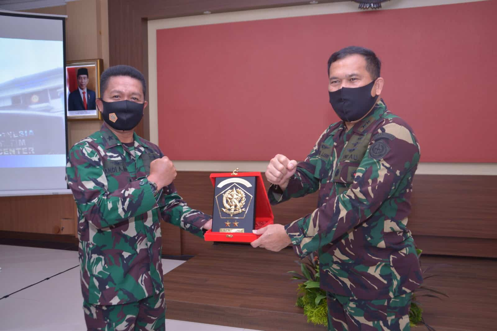 Pangkohanudnas Terima Kunjungan Kainfomar TNI