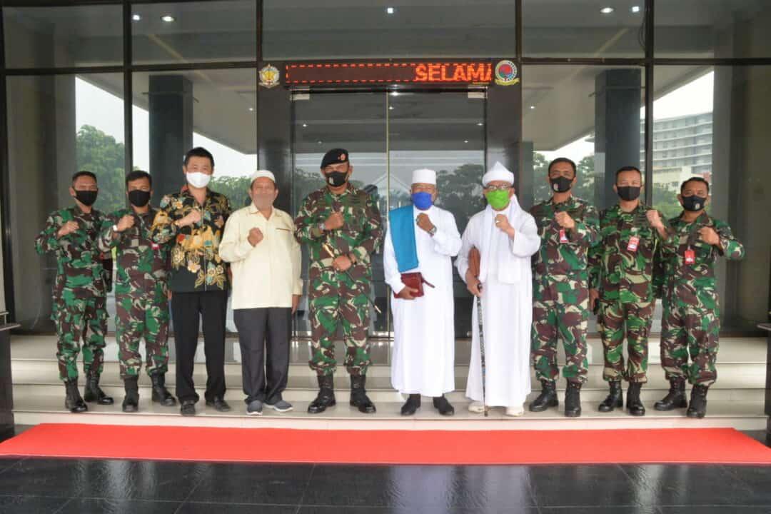 Panglima Kosekhanudnas III Terima Kunjungan Tokoh Agama dan Masyarakat Sumut