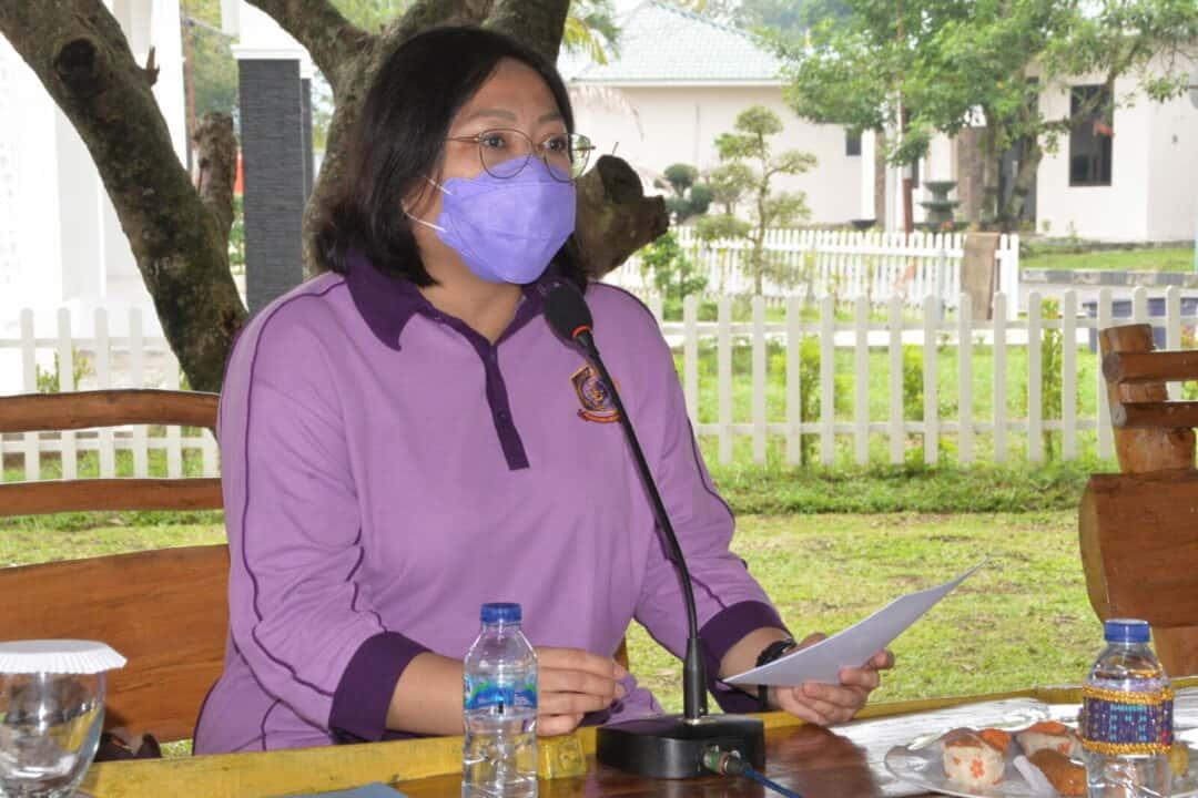 IKKT PWA Cabang 04-Kosekhanudnas III Adakan Pertemuan Rutin dan Olahraga Senam