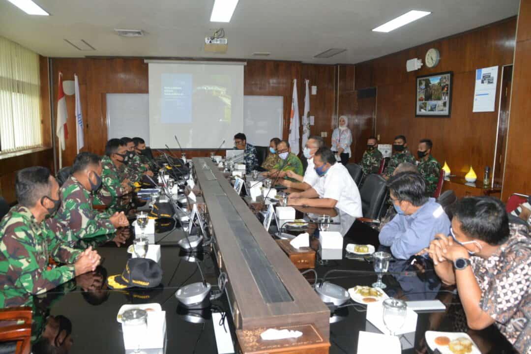 Panglima Kosekhanudnas III Melaksanakan Kunjungan Kerja Ke PT. Inalum
