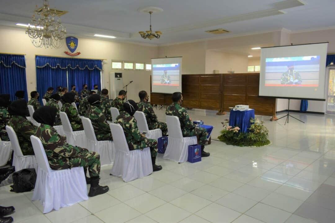 Peringatan Ke-57 HUT Wanita Angkatan Udara di Lanud Adi Soemarmo