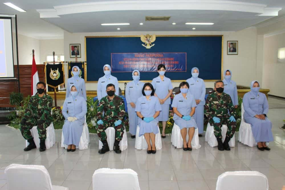 PIA Ardhya Garini Cabang 3.G.II Lanud Adi Soemarmo Laksanakan Rapat Paripurna