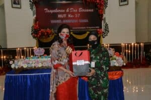 Peringatan HUT ke-57 Wanita Angkatan Udara di Lanud Iswahjudi