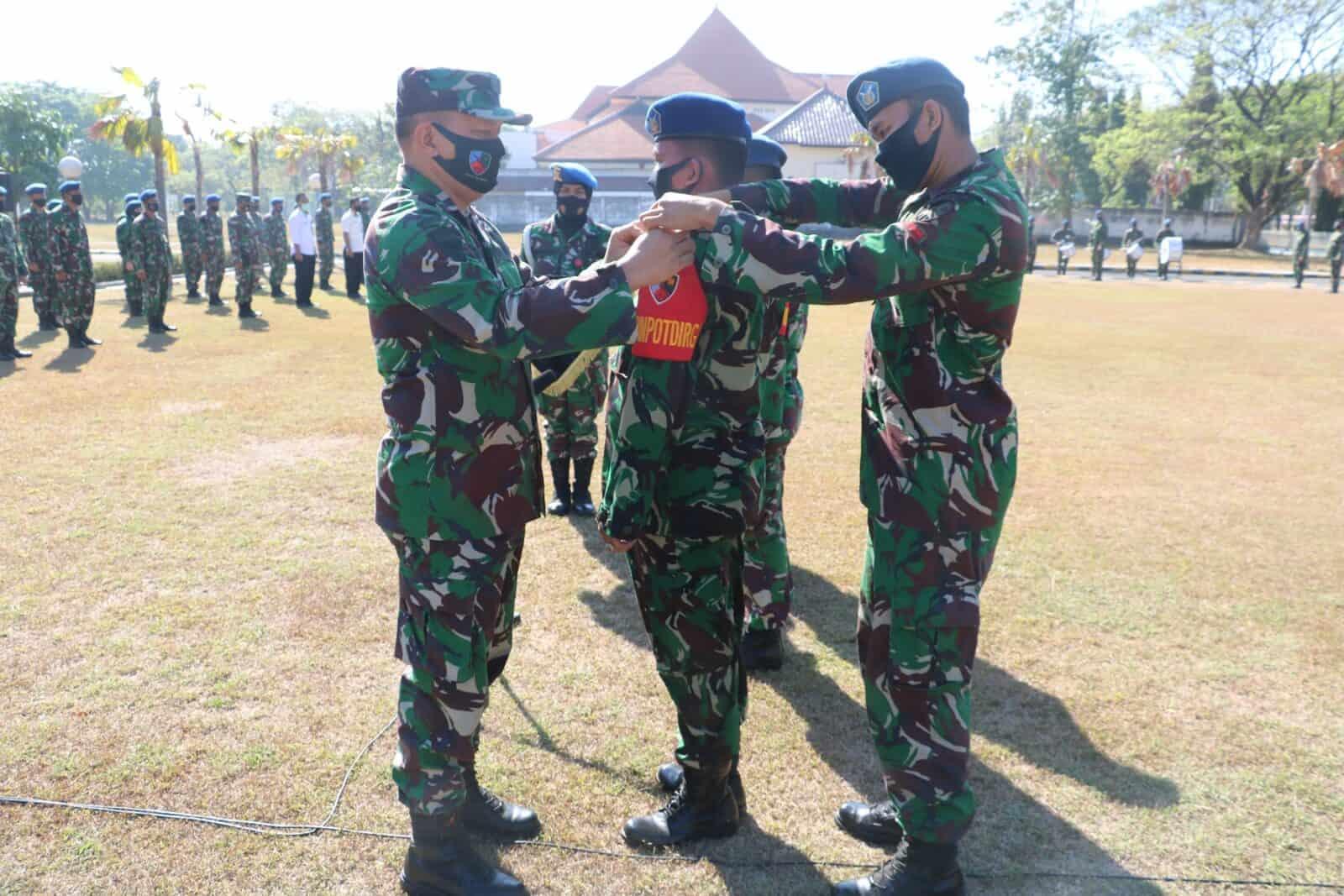 Tingkatkan Keamanan Di Jawa Timur, Lanud Muljono Lantik Tiga Babinpotdirga