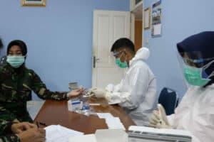 Wingdikum dan Skadik jajaran kembali melaksanakan Rapid Test