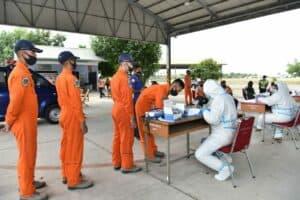 Instruktur Penerbang, Siswa Sekbang dan Ground Crew jalani Rapid Test secara berkala