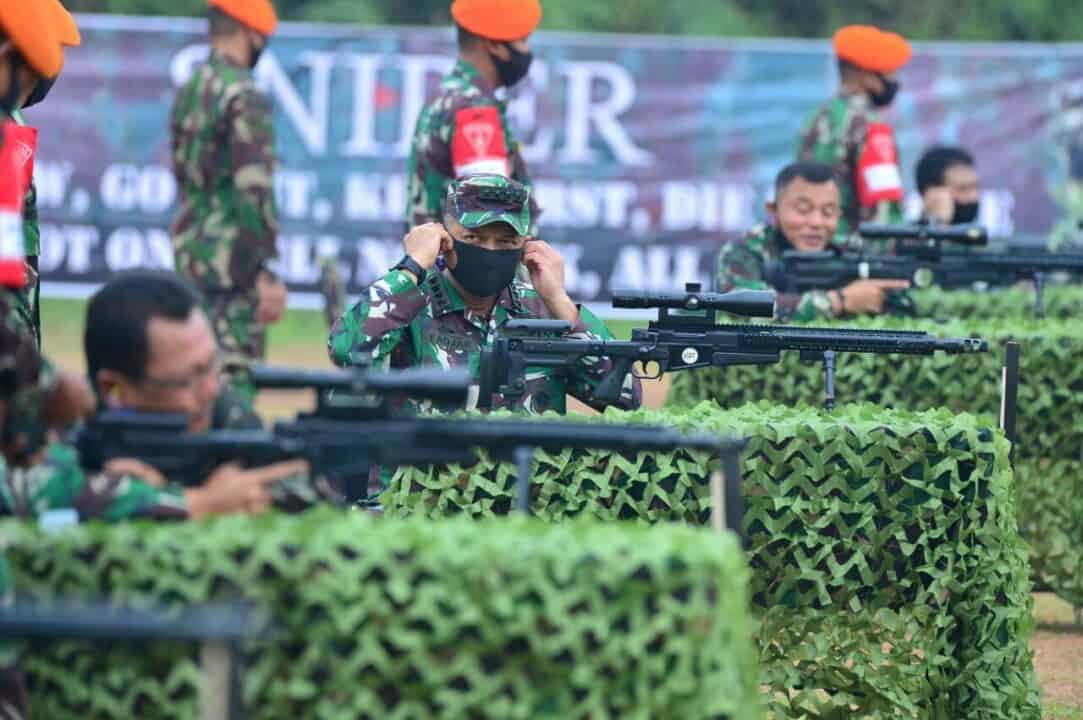 Kasau Hadiri Lomba Menembak Antar Pati TNI AU
