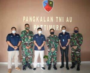 Danlanud Pattimura Terima Kunjungan GM PT. Angkasa Pura I Ambon