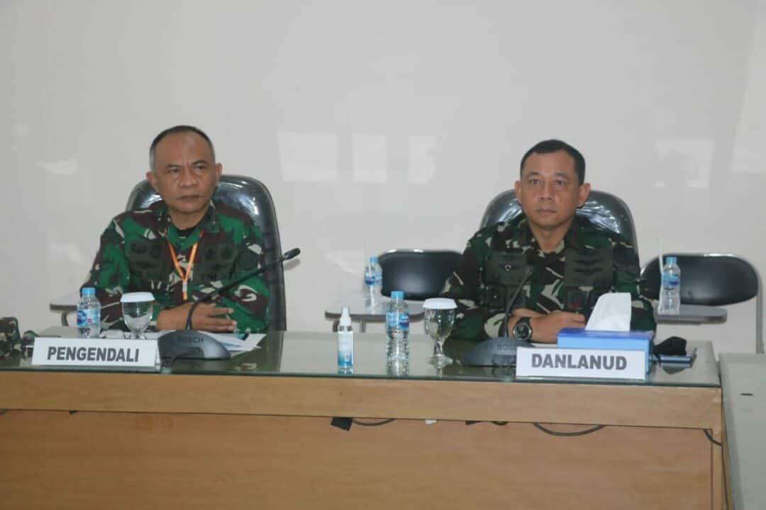 Tim Itjen TNI Audit Kinerja Lanud Atang Sendjaja