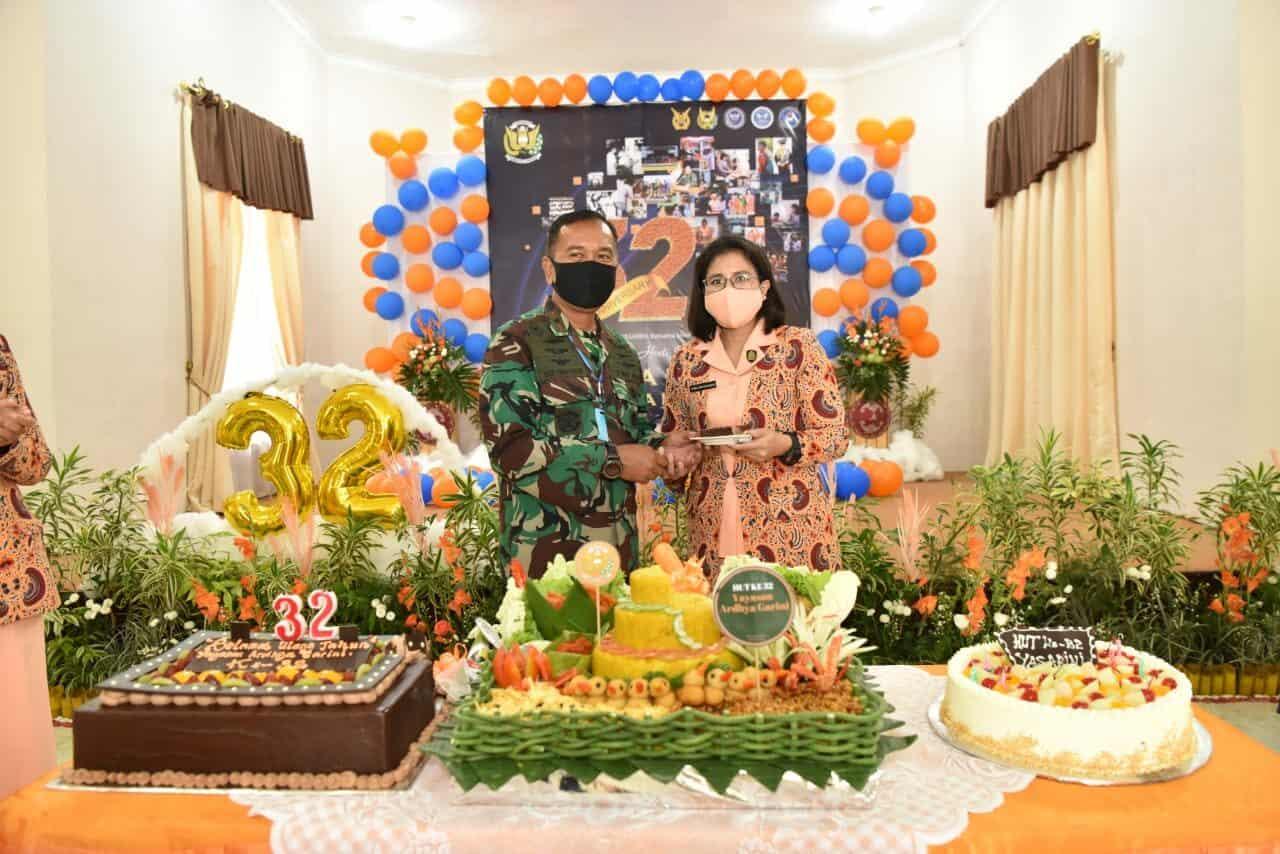 Syukuran Hari Ulang Tahun ke-32 Yasarini Cabang Lanud Adisutjipto