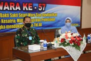 Wara Kodiklatau Ikuti Pembekalan Dalam Rangka HUT Ke-57 Wanita Angkatan Udara