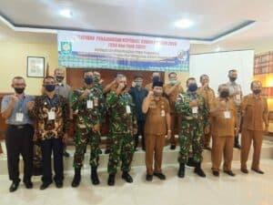 Primkopau Lanud MUS Juara III Koperasi Binaan Terbaik Tahun 2020