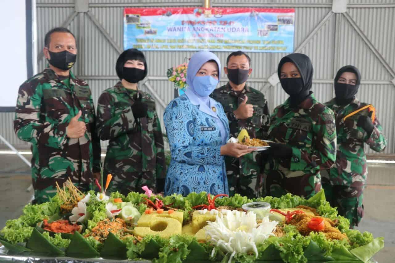 Danlanud Ats Hadiri Tasyakuran HUT ke-57 WARA Bogor