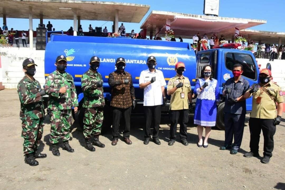 Demo Udara Warnai Pembukaan Pelangi Nusantara Tahun 2020