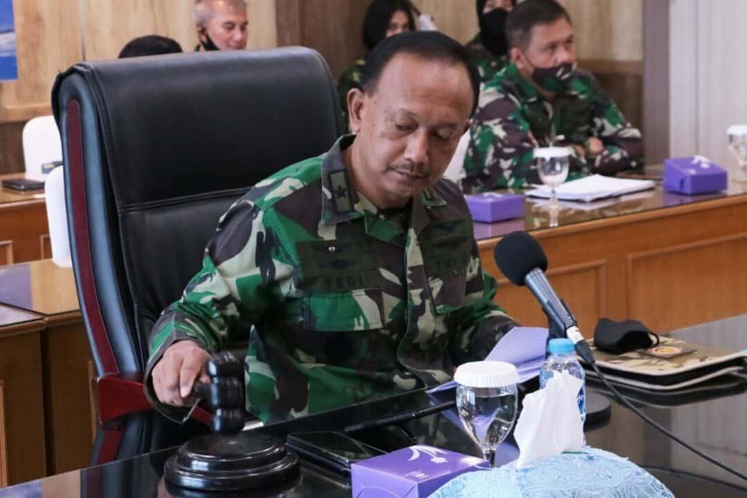 Geladi Waskita Dharma Pasis Dikreg XLVII Sesko TNI Ditutup